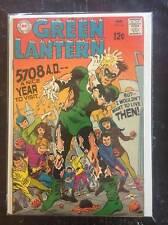 Green Lantern #66, Vol. 2, Silver-Age Comic Book,  VF/VF+, DC, 1969