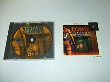 Tomb Raiders 1 Sony PlayStation 1 NTSC-J PS1 Japan import