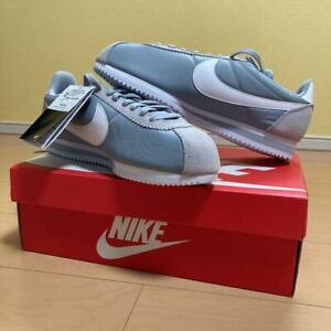NIKE Classic Cortez Nylon Men's Sneakers Shoes Size 10.5 Gray JAPAN NEW