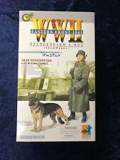 """Dragon WWII 1/6 Gendarm Feldwebel """"Gustav"""" w/Dog """"Kaiser"""" Eastern Front 1943"""