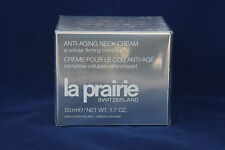 LA PRAIRIE ANTI-AGING NECK CREAM 50ml - NEW IN FACTORY SEALED CELLOPHANE PACKING