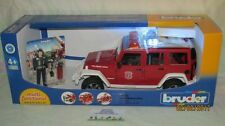 Bruder 02528 Jeep Wrangler Unlimited Rubicon Fire brigade Vehicle with figure
