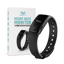 Bluetooth Heart Rate Monitor Bracelet Pedometer Fitness Wristband Smart Watch