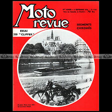 MOTO REVUE N°1455 ROYAL ENFIELD 350 CLIPPER CROSS LAGUEPIE SAXTORP RIGA 1959