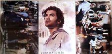 1)Lot de 3 Posters HEROES de 41 x 57 cm par poster