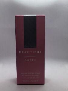 Beautiful Sheer By Estée Lauder 2.5 Oz Eau De Perfume.discontinued,old Formula.