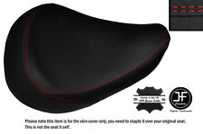 RED DS STITCH CUSTOM FITS HONDA SHADOW VT 125 99-07 FRONT LEATHER SEAT COVER