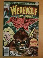 Werewolf by Night # 40 Marvel 1976 Doctor Glitternight Very Nice Comic