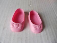 chaussures à brides  pour poupée clodrey  52cm- 11 X 5cm env