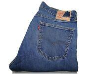 "LEVIS Jeans Blue Stretch Denim Straight Leg Fit SIZE W34 L27 Waist 34"" Leg 27"""