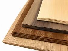 Bastelset Holzplatte Buche Eiche Nussbaum Mahagoni Holzdeko Modellbau Furniere