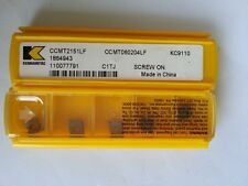KENNAMETAL User Tools CCMT060204LF KC9110  5pcs
