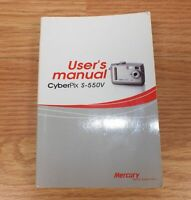 Replacement User's Manual Only FOR Mercury Cyberpix (S-550V) **READ**