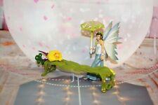 Schleich Bayala Feen Fantasy Elfen Bank + Feenfigur mit Flügel und Schirm #1
