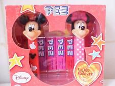 DISNEY PEZ MICKEY AND MINNIE SET FRIENDS FOREVER NEW BOXED