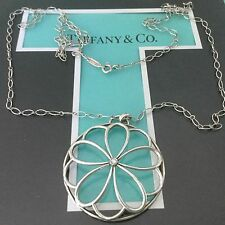 Tiffany & Co Garden Petals Flower Extra Large Diamond. Authentic