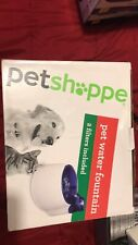 New listing Petshoppe Pet Water Fountain