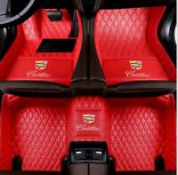 Suitable for ATS CTS CT6 SRX XT5 XTS Waterproof Non-slip CarpetsCar Floor Mats