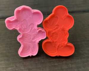 """Disney Mickey & Minnie Mouse Play Doh Modeling Clay 3"""" Stamp & Cut Mini Cut-Out"""