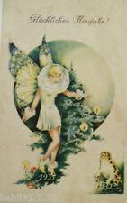 """ anniversaire, ange, elfe, grenouille, sapin de Noël, chandelles "" 1930 (806)"