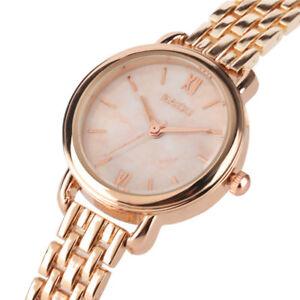 Luxury Women Stainless Steel Watch Analog Quartz Bracelet Wrist Watches Gift