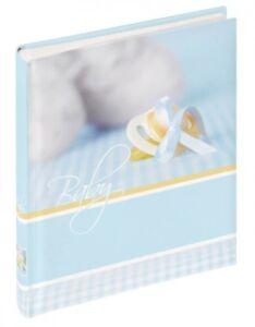 Walther Babyfotoalbum Junge Album Babyalbum Fotoalbum Geschenk z. Geburt Taufe