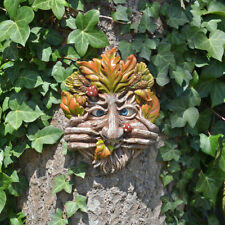 Cheeky Mouth Treant Face Wall Plaque Garden Greenman Decorative Gift Deco 80314