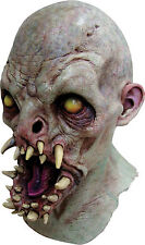 Halloween Costume MOUTHFUL OF FANGS DETAILED LATEX DELUXE MASK Haunted House NEW