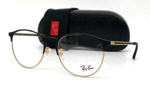 Ray Ban RX6375F 2890 Black Gold / Demo Lens  55mm Eyeglasses