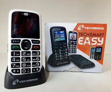 TECHSMART EASY TELEFONINO SEMPLIFICATO DUAL SIM TECHMADE BIANCO