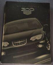 1999 Chrysler 300 M 32pg Catalog Sales Brochure Excellent Original 99