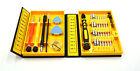 38 piezas calidad Destornilladores Set Kit De Herramientas Reparación Fijación