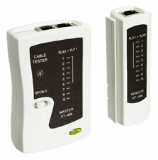 Goobay Network cable tester for testing CAT 5/6 network and ISDN connections