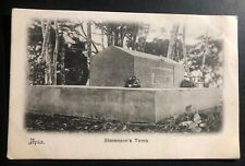Mint Apia Samoa Real Picture Postcard RPPC Mount Vaea Stevenson's Tomb