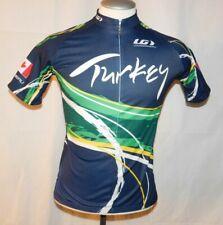 Louis Garneau Cycling Jersey Turkey Pedal & Sea Men's M Women's XL Bicycle
