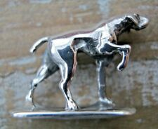 Miniature Sterling Silver German Shorthaired Pointer GSP Gun Dog Hunting Game