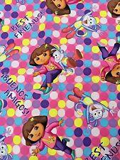 Dora the Explorer w/Boots - Best Friends - OOP 2013 ctn fabric  Springs Creative