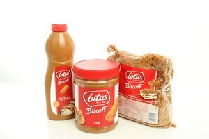 Lotus Biscoff Speculoos Gift Set - Topping Sauce, Spread and Crumbs
