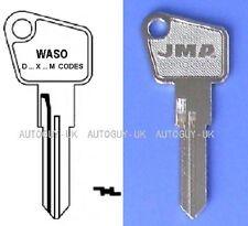 PETROL GAS CAP WASO KEY CUT TO CODE WITH PREFIX D-M-X  CLASSIC CAR LOCKING CAP