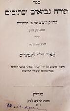 altes Buch JUDAICA von 1912
