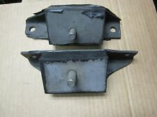 63 64 65  FALCON   MOTOR MOUNTS  260 289 ENGINE MOUNTS v8 PAIR LEFT AND RIGHT