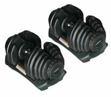Adjustable Dumbbells  5-40kg 10-90lb Selectable UK Stock UK Seller 1 x Pair