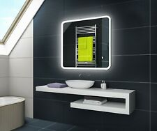 LED Illuminated Bathroom Mirror with Touch Switch Light up Modern | L59