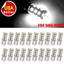 20pc Super White 1156 1141 18-SMDCamper Trailer LED Interior Light Bulbs 12V