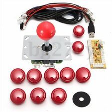 DIY Arcade Set Kits Replacement Parts USB Encoder To PC Joystick & 10 Buttons
