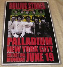 THE ROLLING STONES 1978 SOME GIRLS REPLICA CONCERT POSTER W/PROTECTIVE SLEEVE