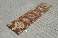 turkish runner,2x8 ft,Turkish Rug,Anatolian Rug,Bohemian,Vintage rug,Oushak Rug