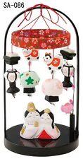 Hina Doll Japanese Girls Festival Mino yaki Tsurushi Hina Mobile Made in Japan