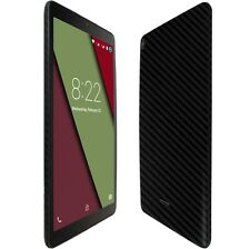 Skinomi Black Carbon Fiber Skin+Clear Screen Protector HP 10 G2 Tablet 2301