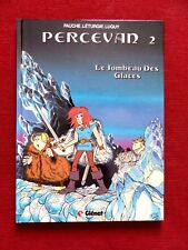 PERCEVAN Le Tombeau Des Glaces - dessin original daté 1985 signé de Luguy